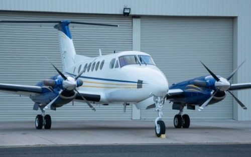 7 1981 BEECHCRAFT KING AIR B200C SN BL-0041